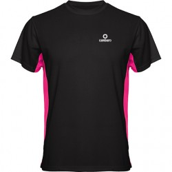 Short sleeve, technical t-shirt, two colours GRANCHIO