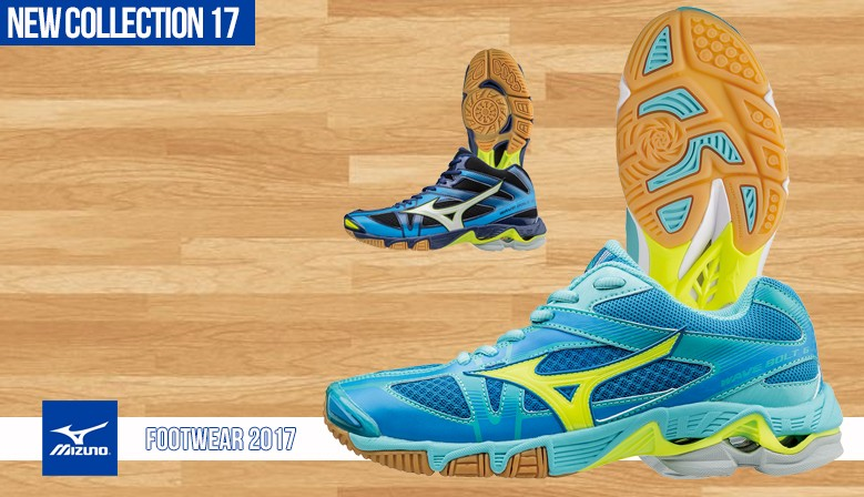 MIZUNO FOOTWEAR COLLECTION 2017