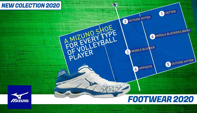 MIZUNO FOOTWEAR COLLECTION 2020